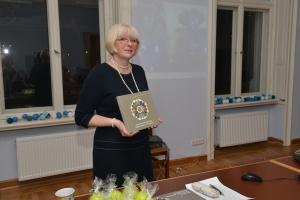 Grāmatas autore Aija Jansone.