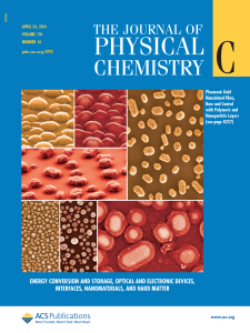 The Journal of Physical Chemistry C
