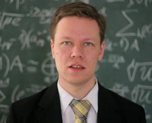 Profesors Andris Ambainis. Foto: Toms Grīnbergs, LU Preses centrs