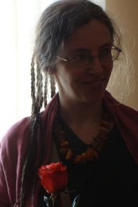 Renāte Siliņa-Piņķe. 2014. g. grāmatas atvēršanas svinībās LU Latviešu valodas institūtā
