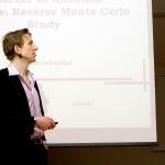 Jānis Timošenko prezentē iegūtos rezultātus starptautiskajā zinātniskajā FM&NT konferencē