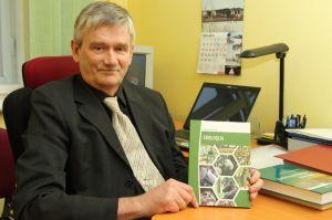 LU Bioloģijas institūta direktors Dr.biol. Viesturs Melecis. Foto: Toms Grīnbergs, LU Preses centrs